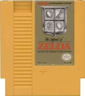 Legend of Zelda [Test Cartridge] Cover Art