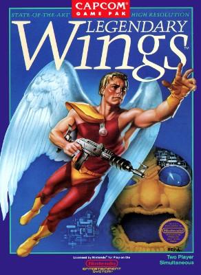 Legendary Wings Cover Art