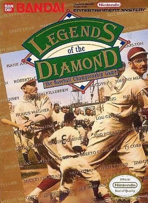 Legends of the Diamond: The Baseball Championship Cover Art