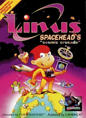 Linus Spacehead's Cosmic Crusade Cover Art