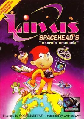 Linus Spacehead's Cosmic Crusade [Aladdin Deck Enhancer] Cover Art