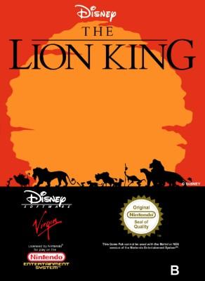 Lion King [PAL] Cover Art