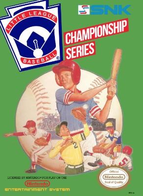 Little League Baseball: Championship Series Cover Art