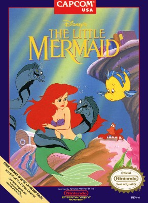 Little Mermaid, Disney's Cover Art