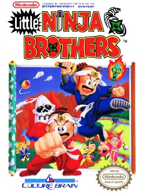 Little Ninja Brothers Cover Art