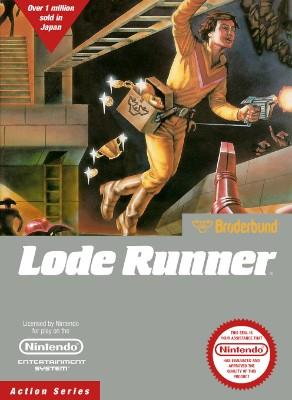 Lode Runner Cover Art