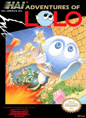 Adventures of Lolo Cover Art