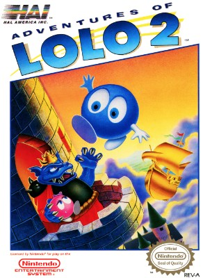 Adventures of Lolo 2 Cover Art