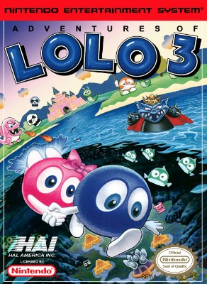 Adventures of Lolo 3 Cover Art
