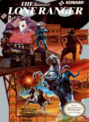 Lone Ranger Cover Art