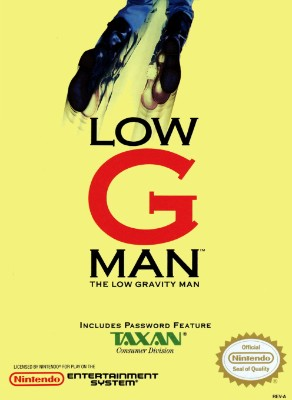 Low G Man: The Low Gravity Man Cover Art