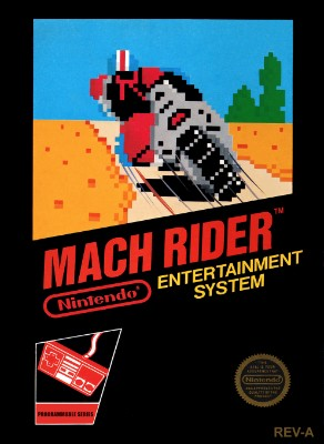 Mach Rider Cover Art