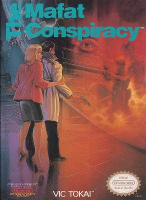 Mafat Conspiracy Cover Art