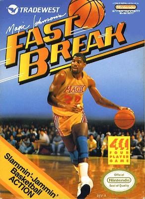 Magic Johnson's Fast Break Cover Art