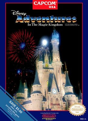 Disney Adventures in the Magic Kingdom Cover Art