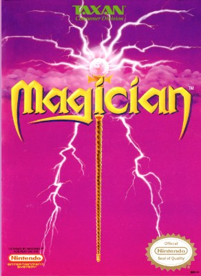 Magician Cover Art