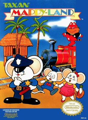 Mappy-Land Cover Art