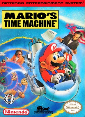 Mario's Time Machine Cover Art