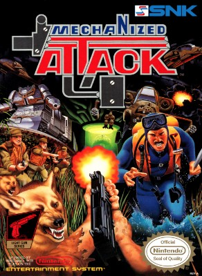 Mechanized Attack Cover Art
