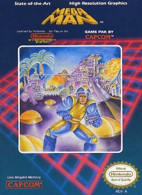 Mega Man Cover Art