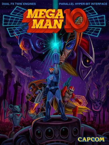 Mega Man 10 [Press Kit] Cover Art