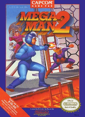 Mega Man 2 Cover Art