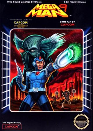 Mega Man 9 [Press Kit] Cover Art
