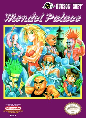 Mendel Palace Cover Art