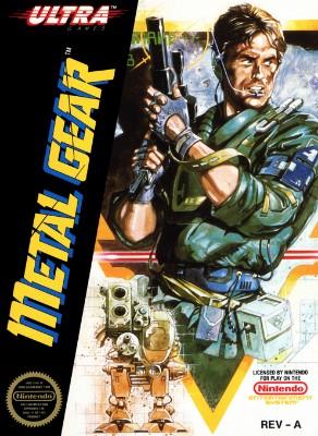 Metal Gear Cover Art