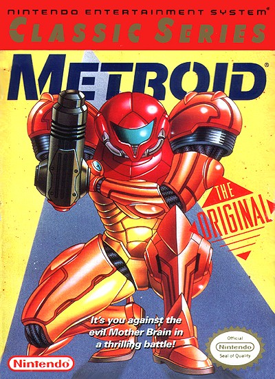 Metroid [Classic Series] Cover Art