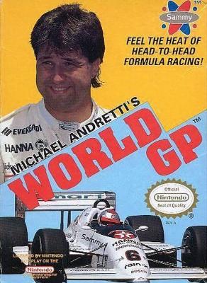 Michael Andretti's World GP Cover Art