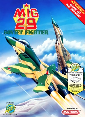 Mig 29 Soviet Fighter Cover Art