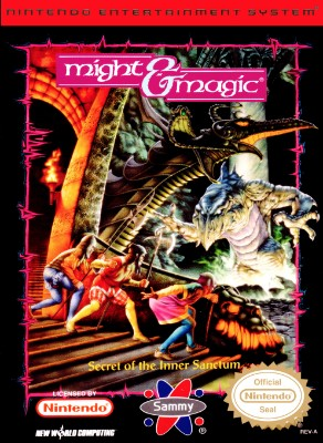Might & Magic: Secret of the Inner Sanctum Cover Art