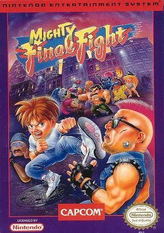 Mighty Final Fight Cover Art