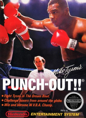 Mike Tyson's Punch-Out!! Cover Art