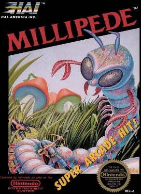 Millipede Cover Art