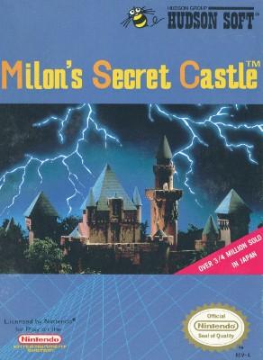 Milon's Secret Castle Cover Art