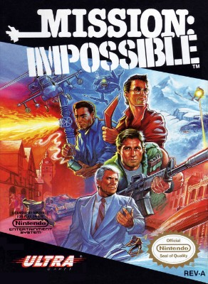 Mission: Impossible Cover Art