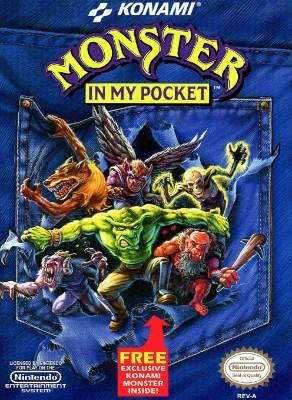 Monster in My Pocket Cover Art