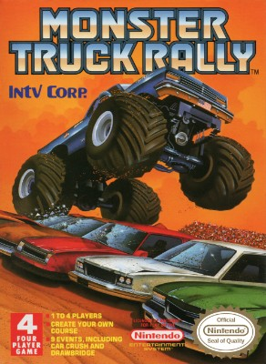 Monster Truck Rally Cover Art