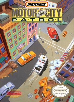 Motor City Patrol Cover Art