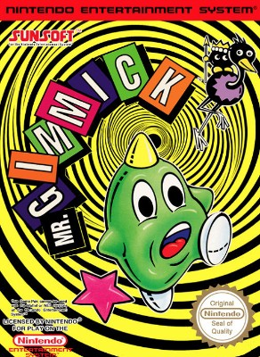 Mr. Gimmick [PAL] Cover Art