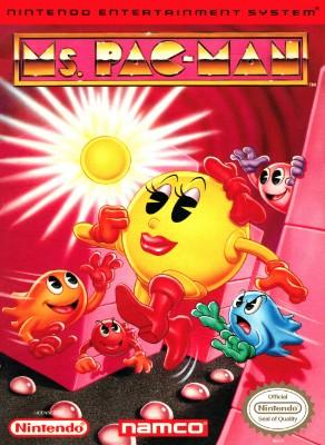 Ms. Pac-Man [Namco] Cover Art