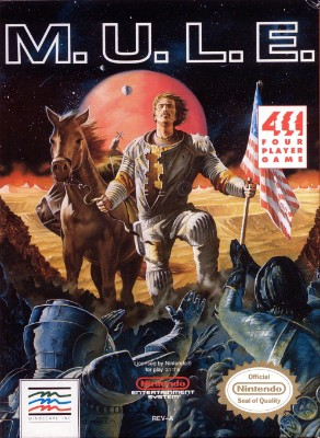 M.U.L.E. Cover Art