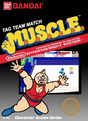 M.U.S.C.L.E.: Tag Team Match Cover Art