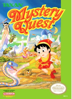 Mystery Quest Cover Art