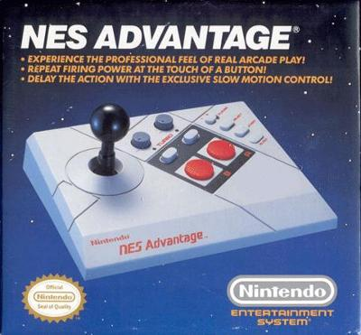NES Advantage Cover Art