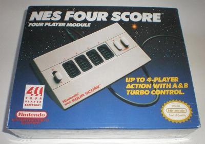 NES Four Score Cover Art