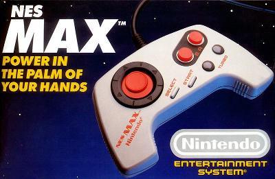NES Max Cover Art