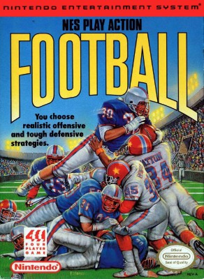 NES Play Action Football Cover Art
